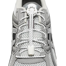 Lock Laces Run Laces, white